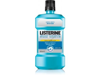 Listerine Stay White ústní voda 500ml