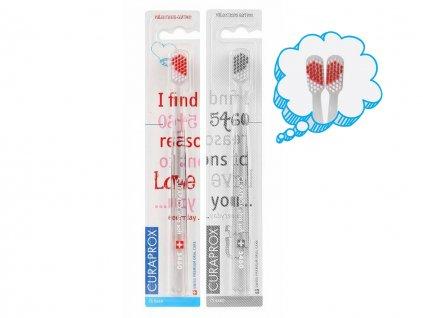 Curaprox 5460 Valentýnská edice Pravá strana