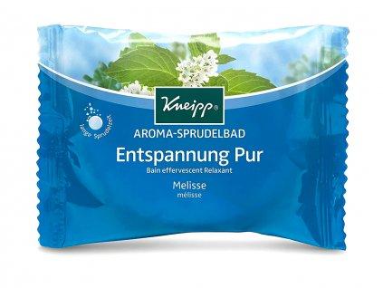 Kneipp Perlivá tableta do koupele Meduňka 80 g