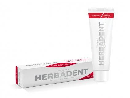 HERBADENT Professional bylinná zubní pasta 100 g
