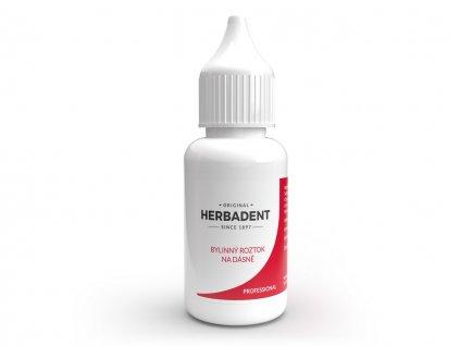 HERBADENT Professional bylinný roztok na dásně 25m