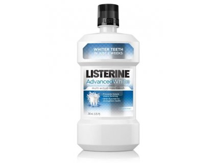 Listerine Advanced White ústní voda 500 ml