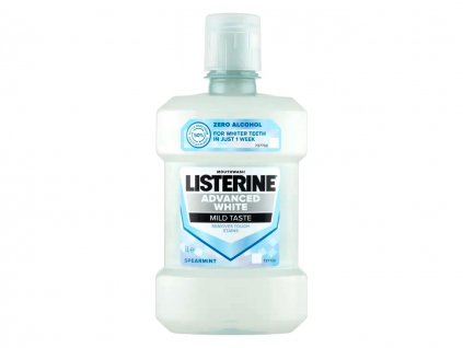 Listerine Advanced White ústní voda 1 litr