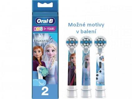 Oral-B Kids Frozen náhradní hlavice 2 ks