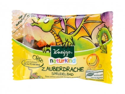 Kneipp Naturkind perlivá tableta Kouzelný drak 80g