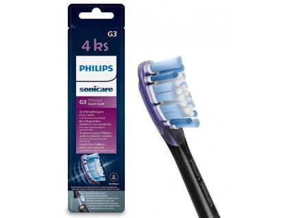 Philips Sonicare Premium Gum Care Standard 4 ks černé HX9054/33