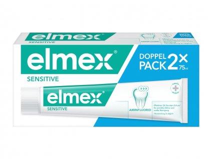 Elmex Sensitive zubní pasta Duopack 2x75 ml