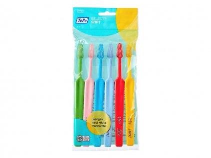 TePe Select zubní kartáček měkký 6ks