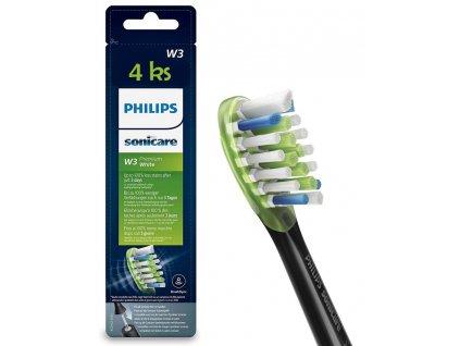 Philips Sonicare Premium White Standard 4 ks HX9064/33 černé