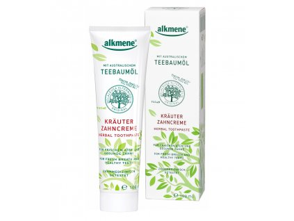 Alkmene Tea Tree bylinná zubní pasta 100ml