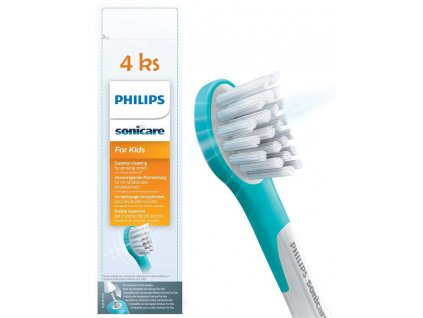 Philips Sonicare for Kids mini HX6034/33 4 ks