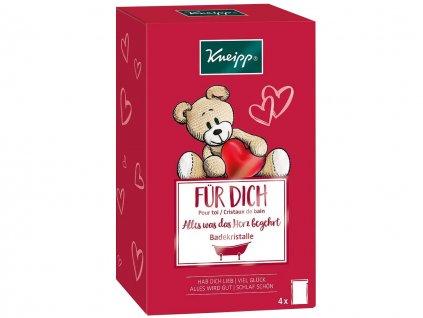 Kneipp dárková sada solí do koupele pro děti 4 x 60 g