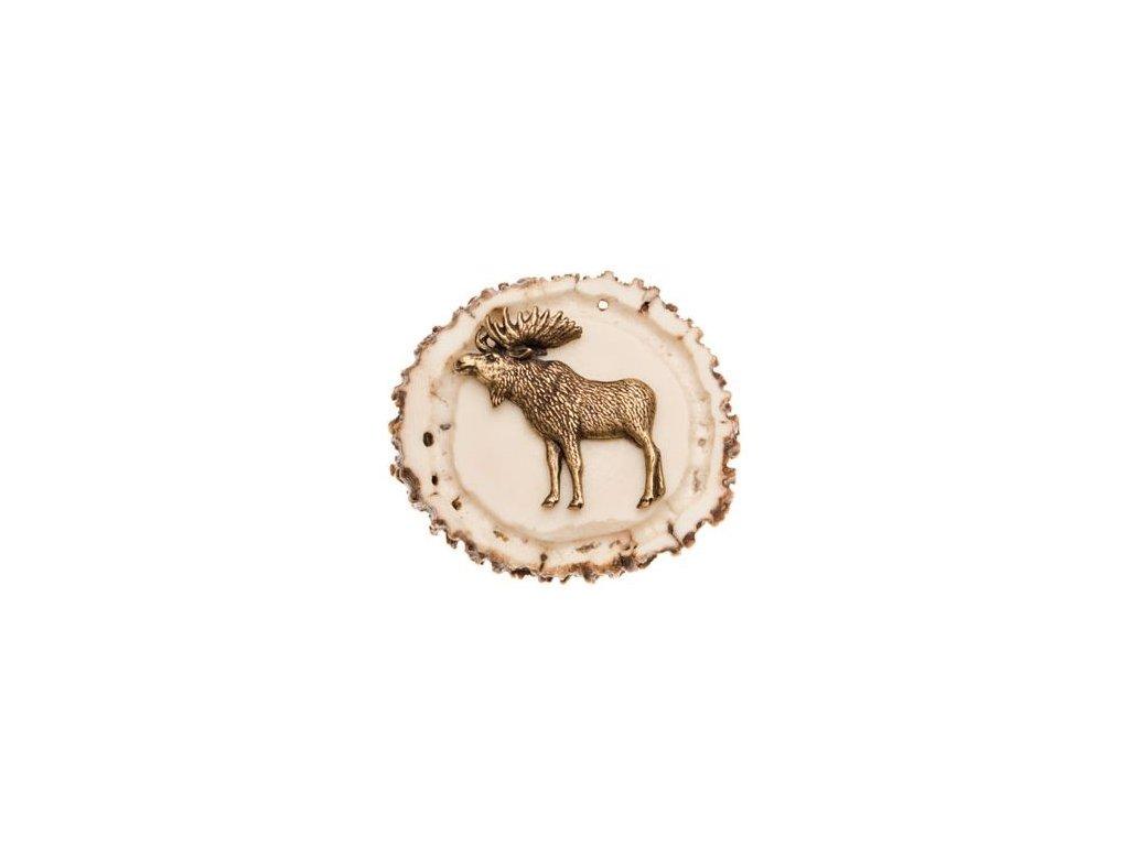Postava losa (parohové bolo)