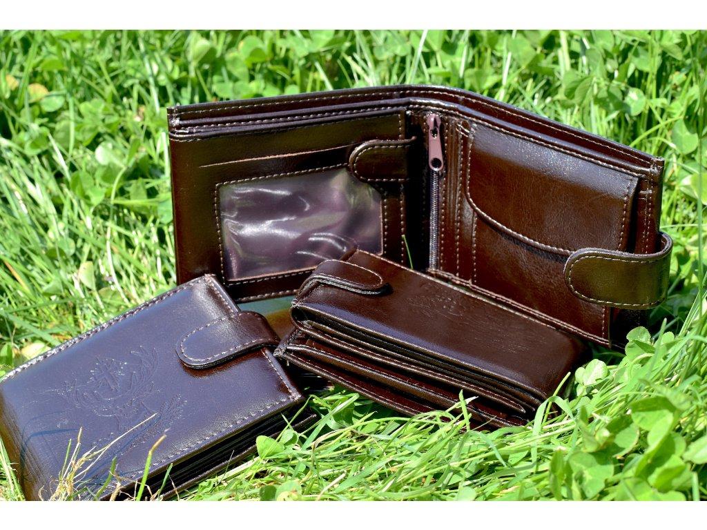 Myslivecká peněženka - vodorovná