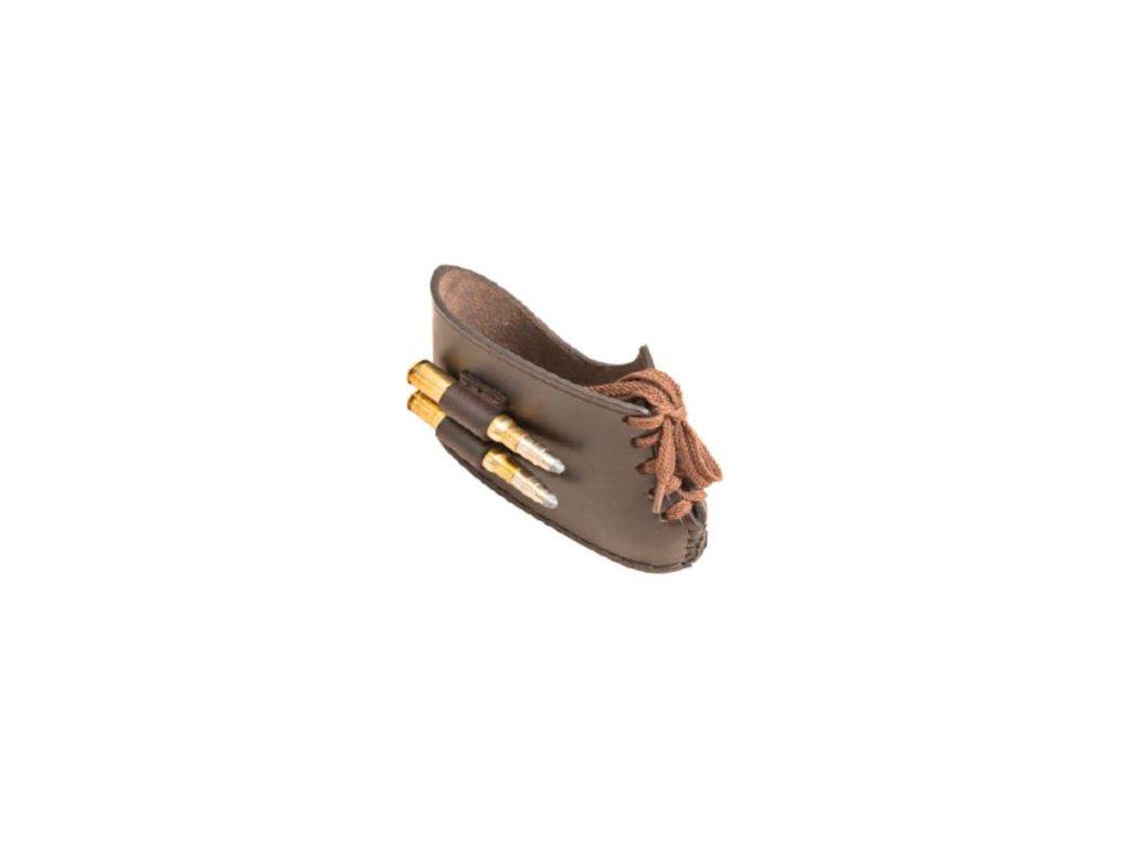 kožená botka pažby