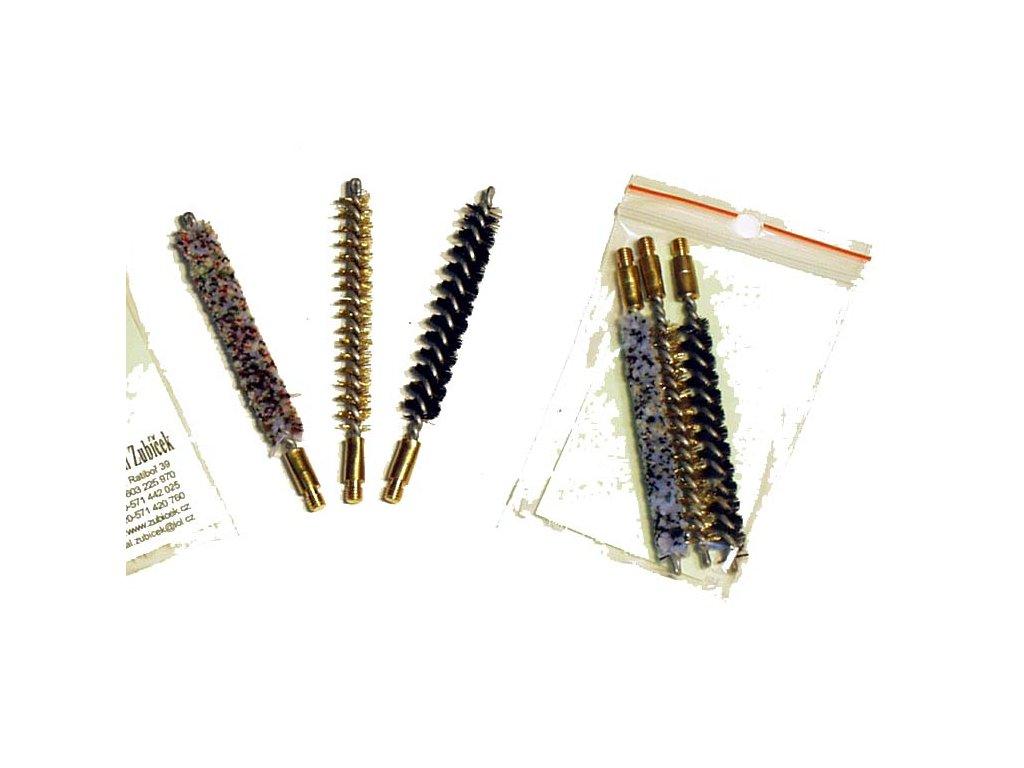 Malorážkové vytěráky - kartáčky ráže 5,6 mm