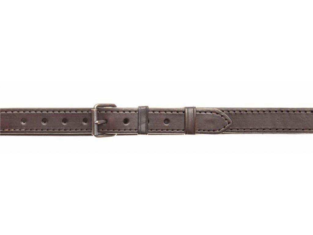 Velmi silný kožený opasek - šíře 3 cm