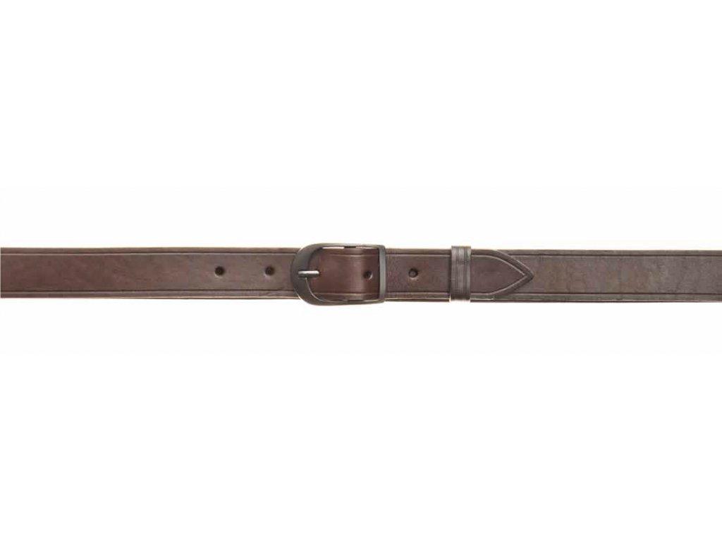 Kožený opasek - šíře 3 cm