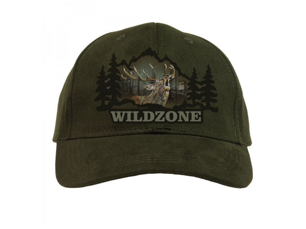 myslivecká čepice, kšiltovka Wildzone