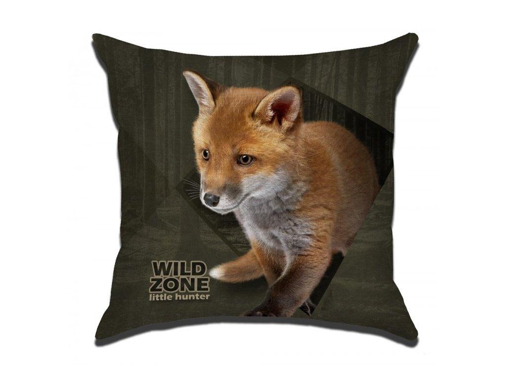 Polštářek pro děti WILDZONE - liška, lišče