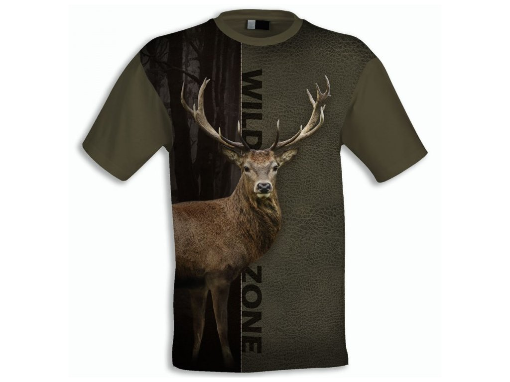 myslivecké tričko Wildzone