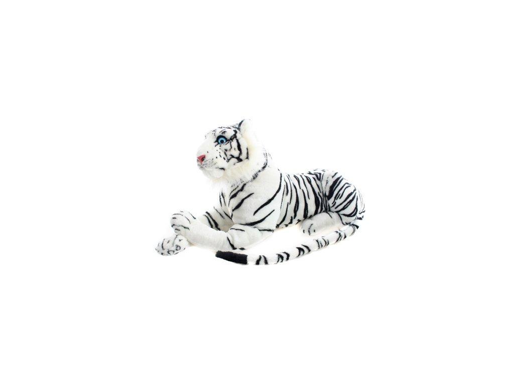 plyšová hračka - bílý tygr