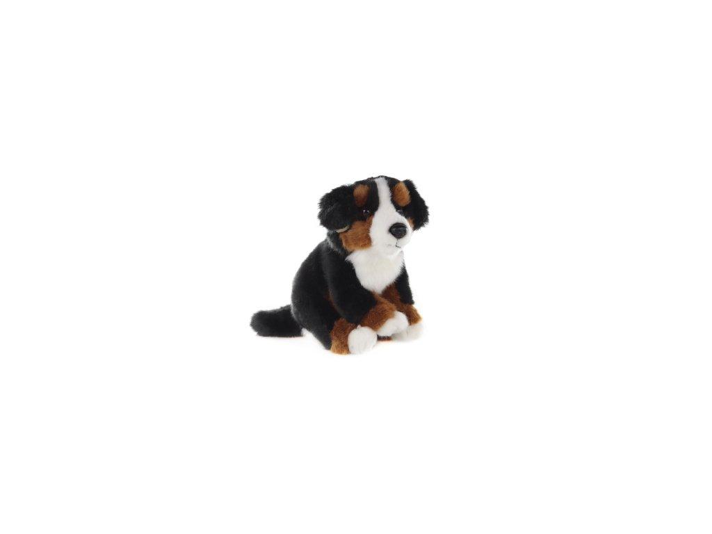Plyšová hračka bernský salašnický pes 16cm
