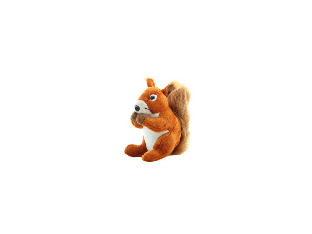 Plyšová hračka veverka 16 cm