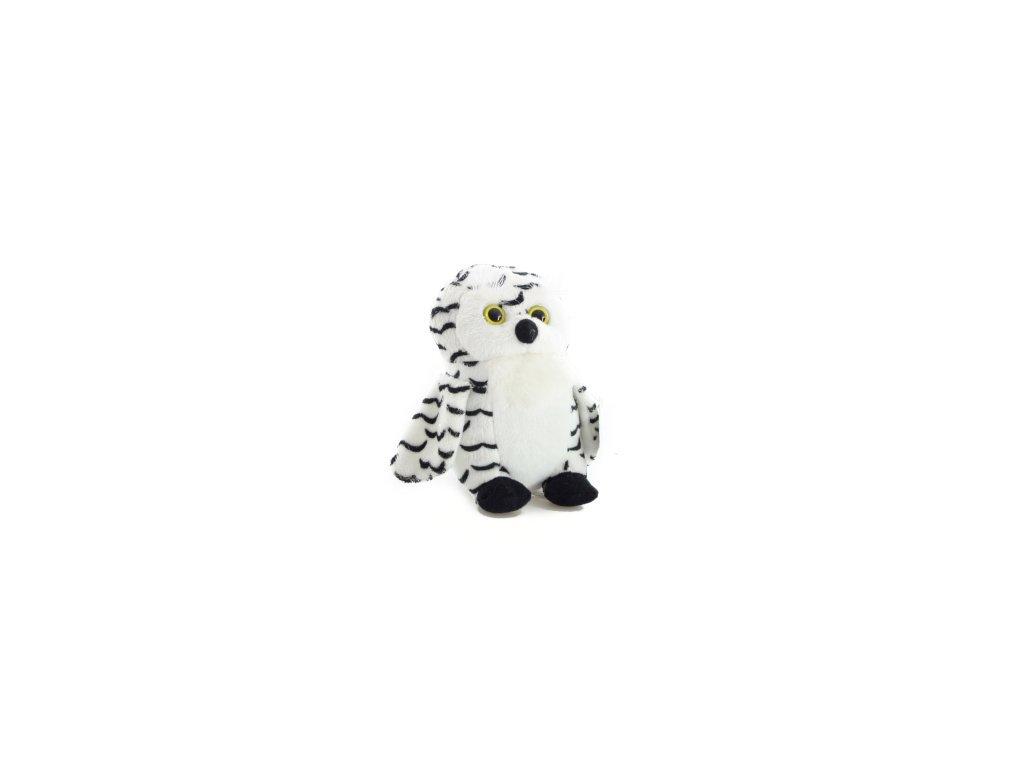 Plyšová hračka sova 14cm