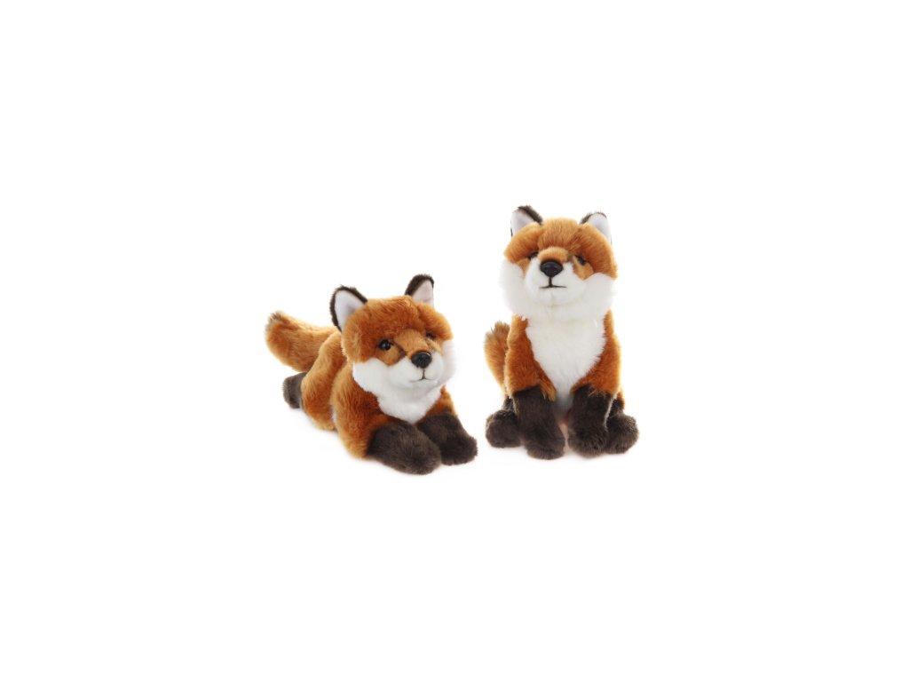 Plyšová hračka liška 30 cm