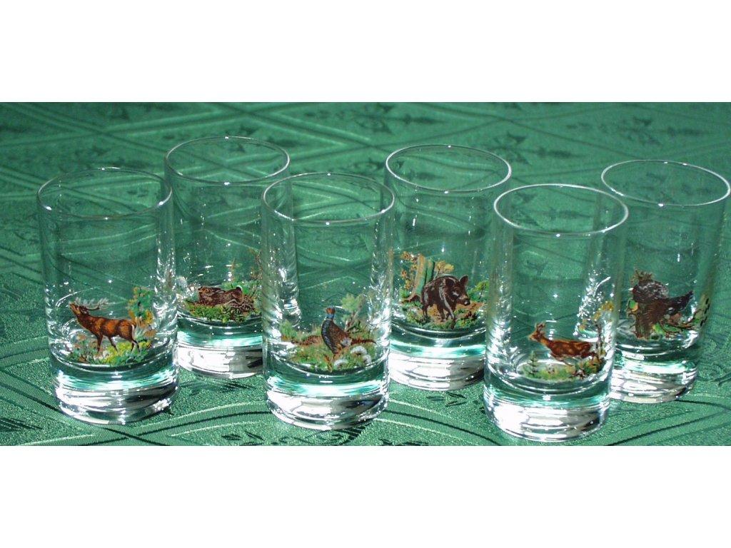 skleničky 6dcl