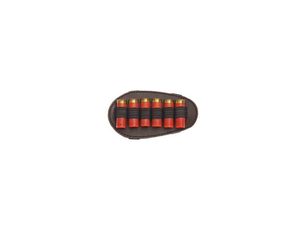 Brokový návlek na pažbu (kožený)