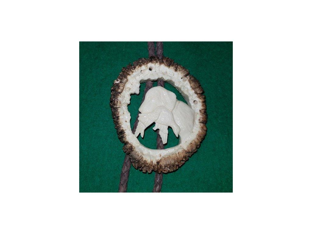 LP166 05 bolo parohové vyřezávané růže pes s kachnou