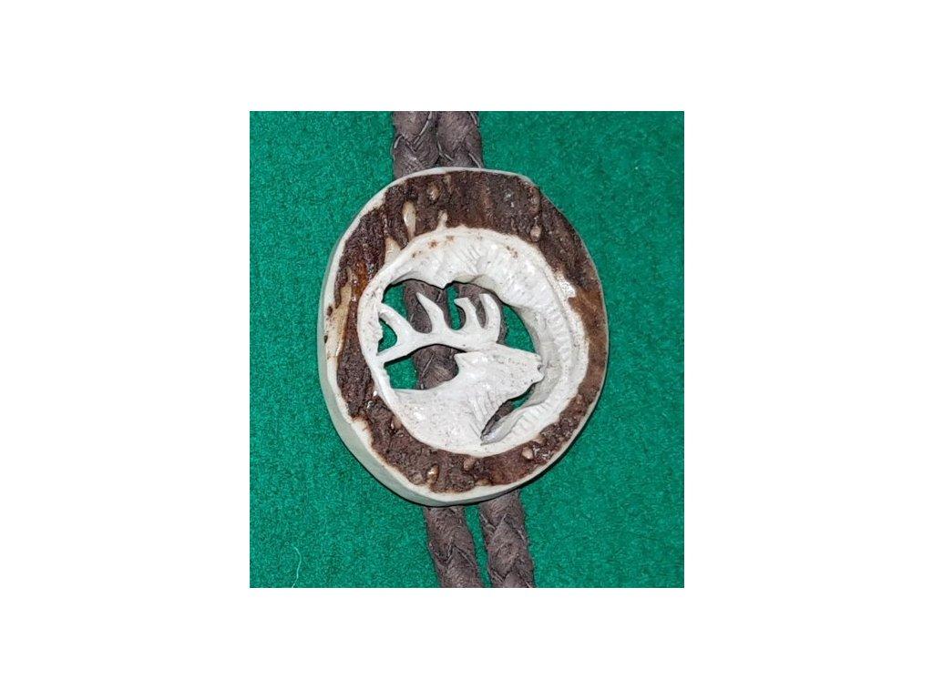 LP167 02 bolo parohové vyřezávané jelen