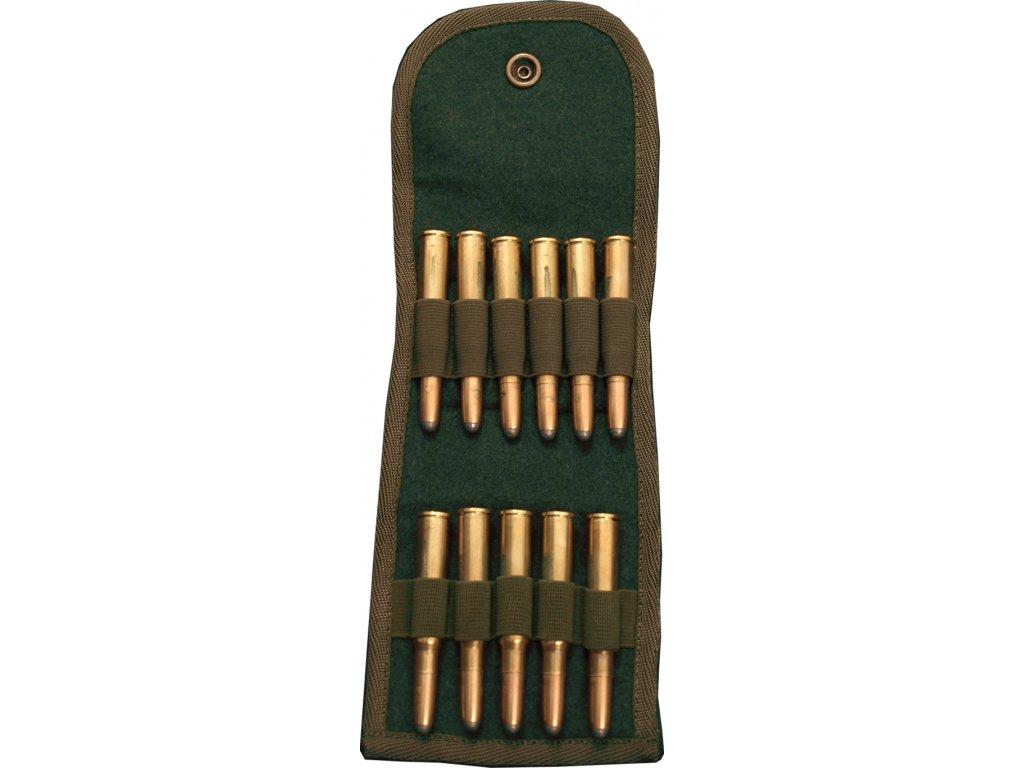 Lodenové pouzdro na náboje (11x K)