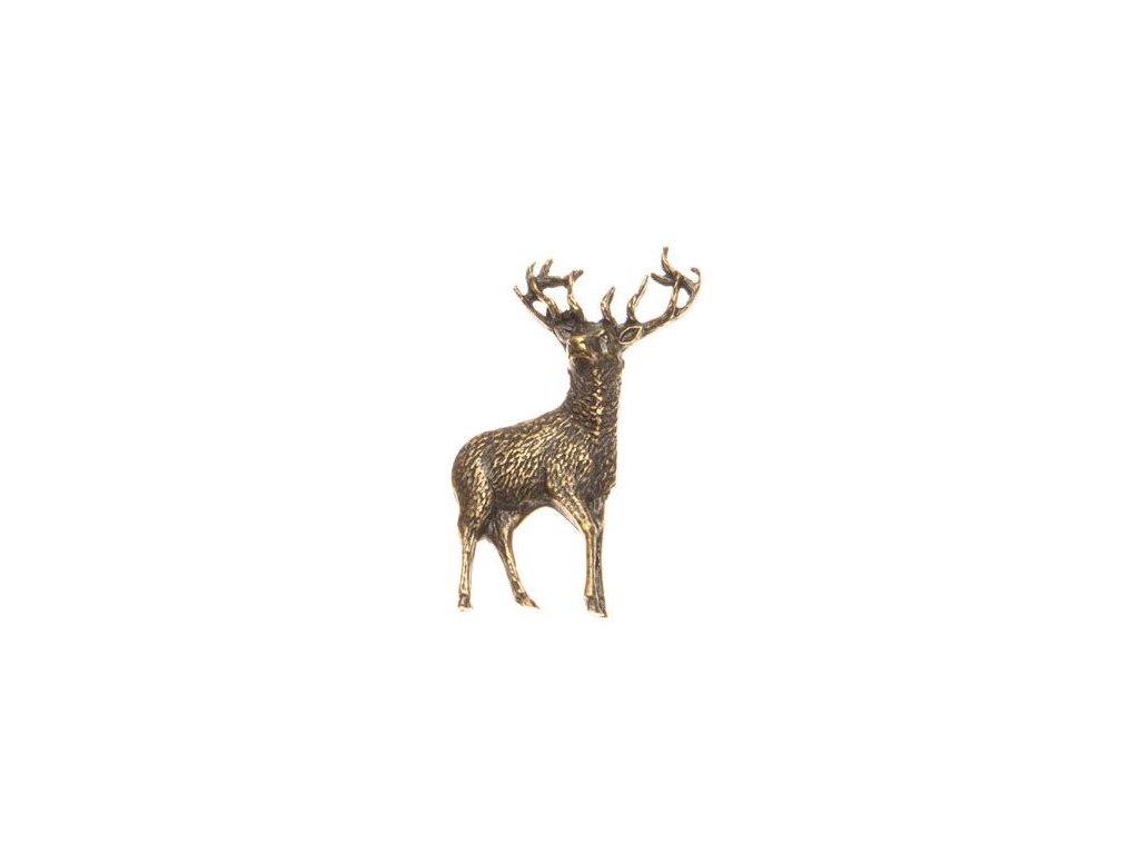 Postava jelena (odznak na klobouk)