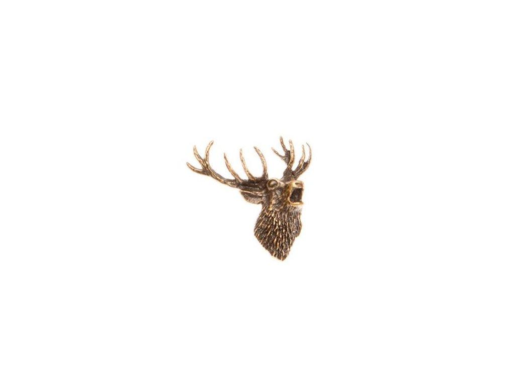 Hlava jelena (odznak na klobouk)