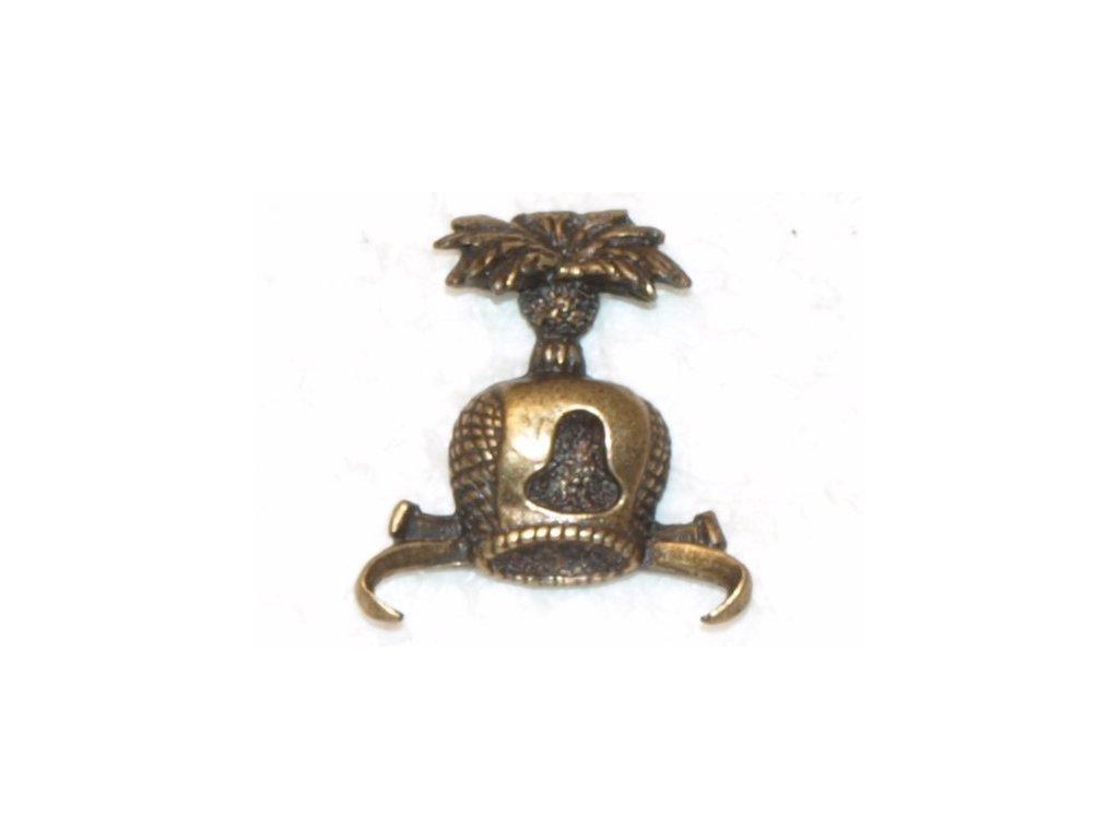 odznak na klobouk - sokolnická čepička