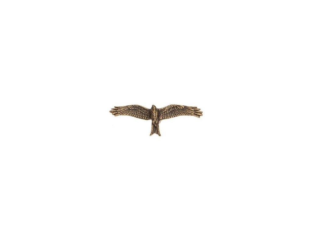 Dravec v letu (odznak na klobouk)