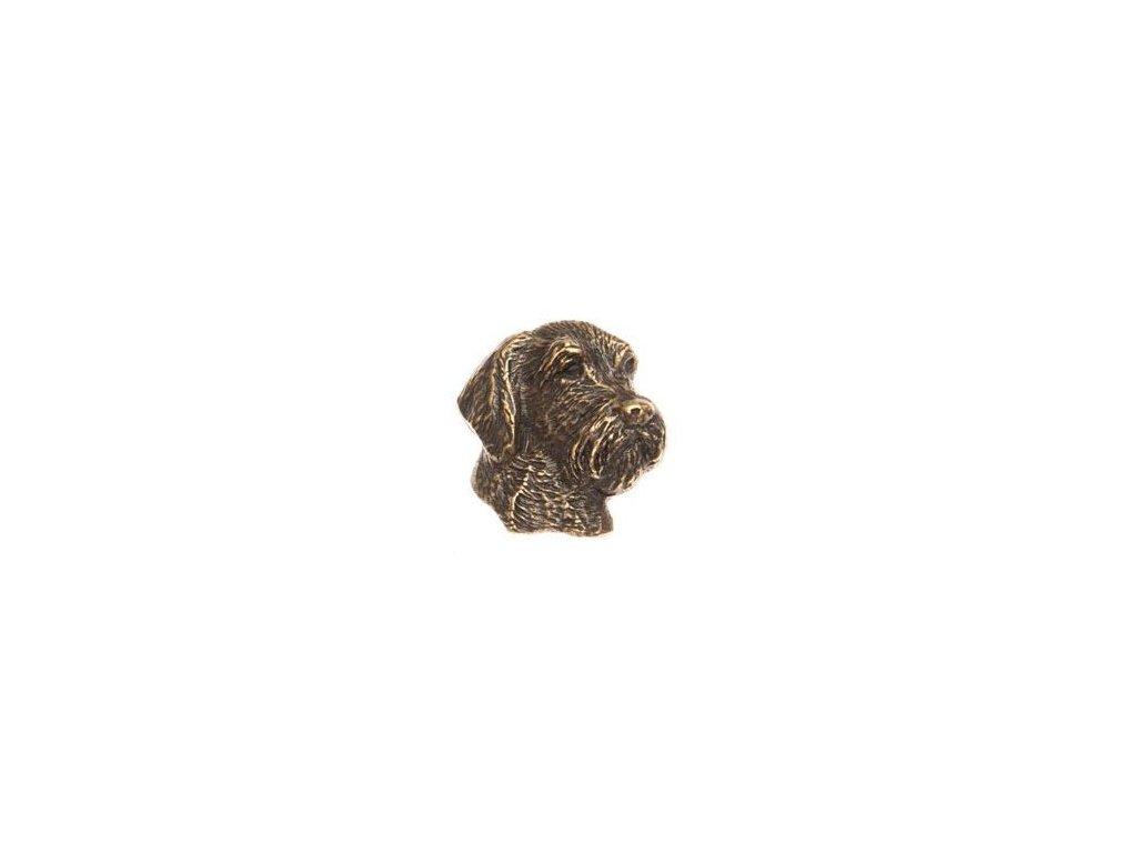český fousek (odznak na klobouk)
