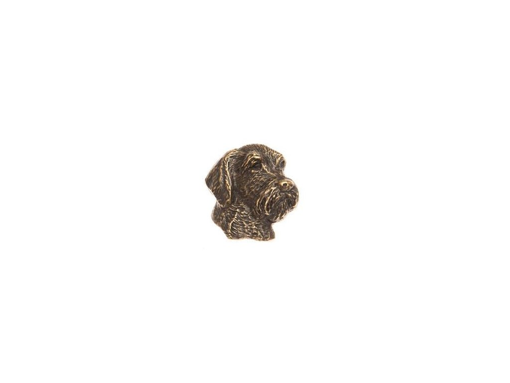 odznak na klobouk - český fousek