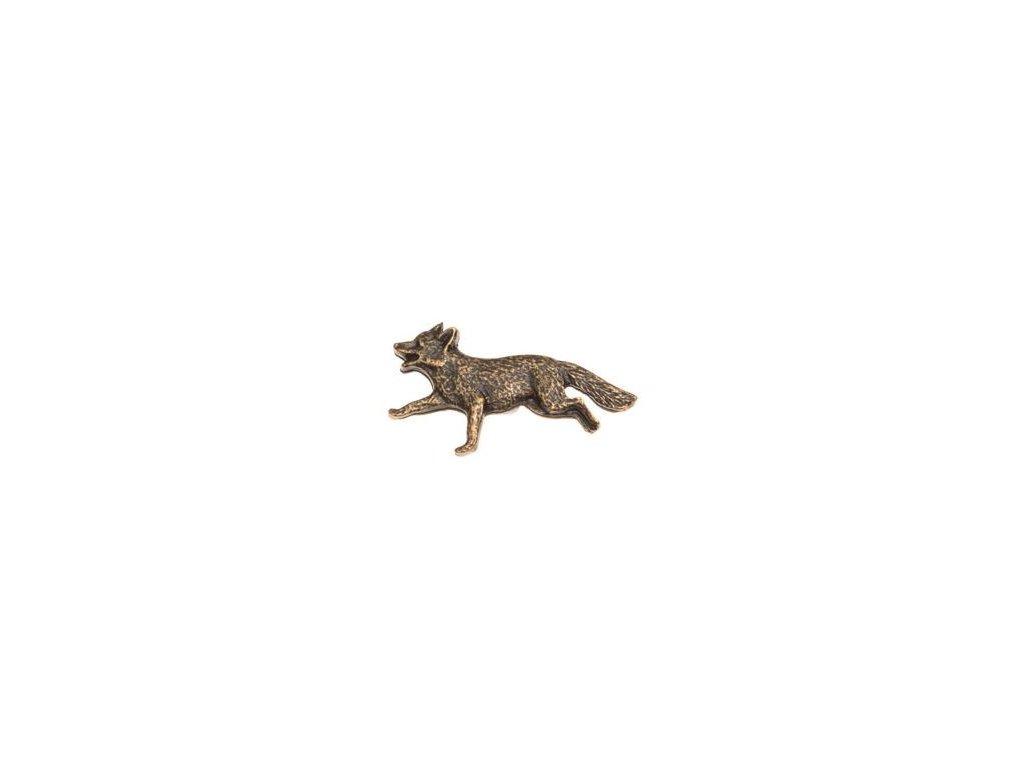 Liška (odznak na klobouk)