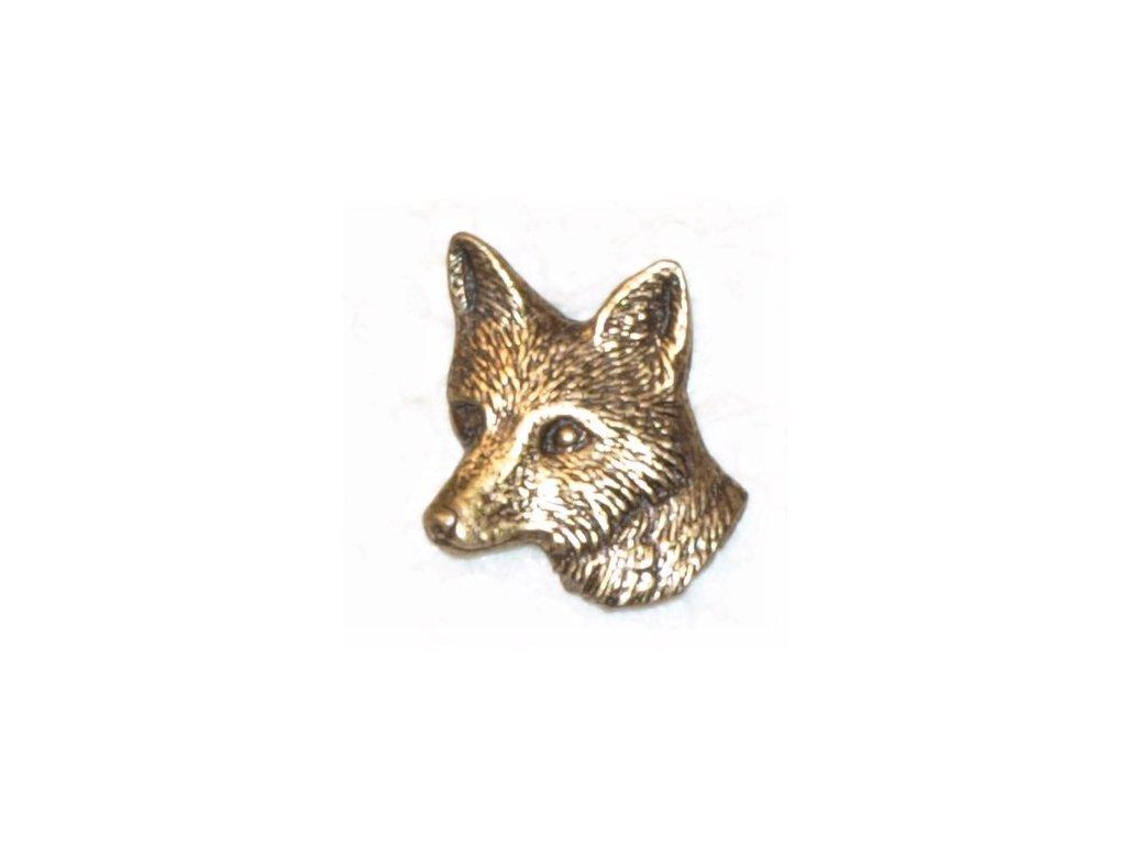 Hlava lišky (odznak na klobouk)