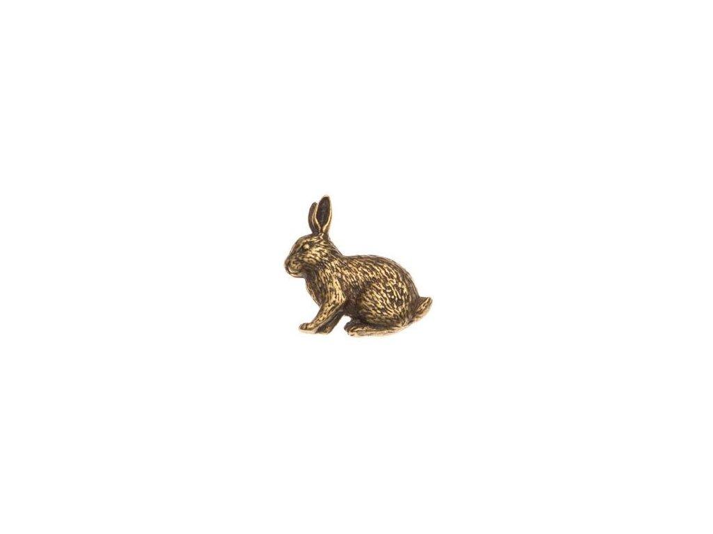 odznak na klobouk - králík