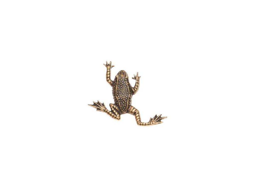 odznak na klobouk - žába