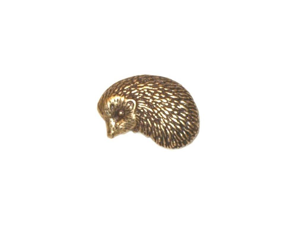 odznak na klobouk - ježek
