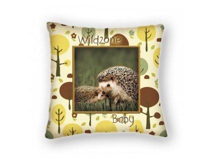 polštářek pro děti Wildzone - ježek