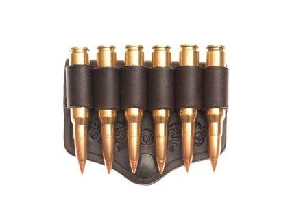 Otevřené pouzdro na 6 kulových nábojů