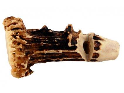 Píšťalka na psy - srnčí parůžek (růže)