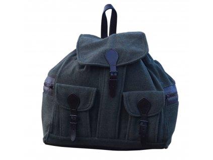 Kožený lovecký batoh